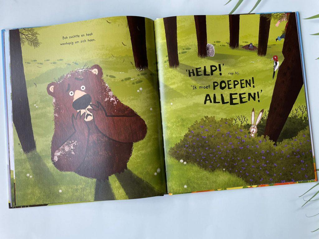 beer moet nodig poepen
