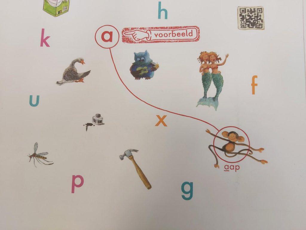 alfabet doeboek aap