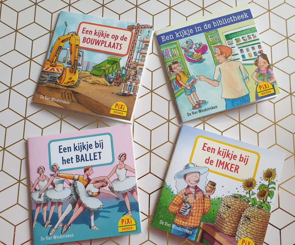 pixi boekjes serie 13 beroepen